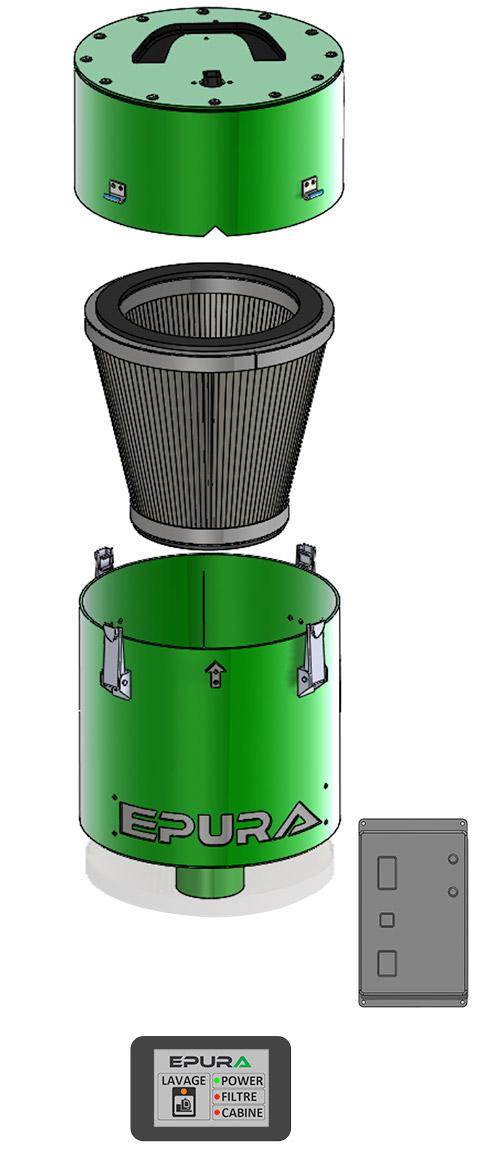 Détail système Epura